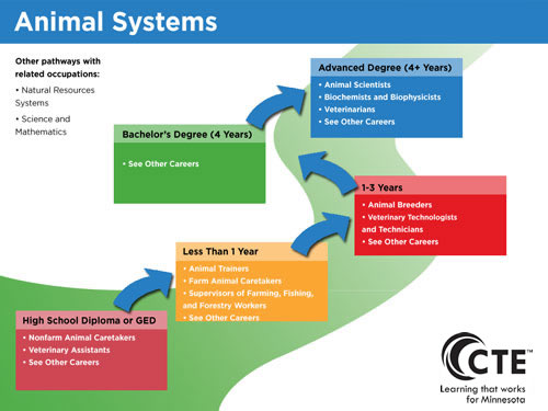 Animal Systems Pathway Minnesota State Careerwise